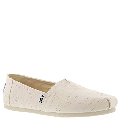 Women Toms Seasonal Classics Womens CoralWhite Stipes U58v1806J40i4413