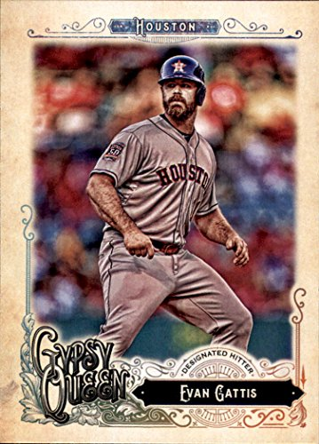 2017 Topps Gypsy Queen #222 Evan Gattis Houston Astros Baseball Card