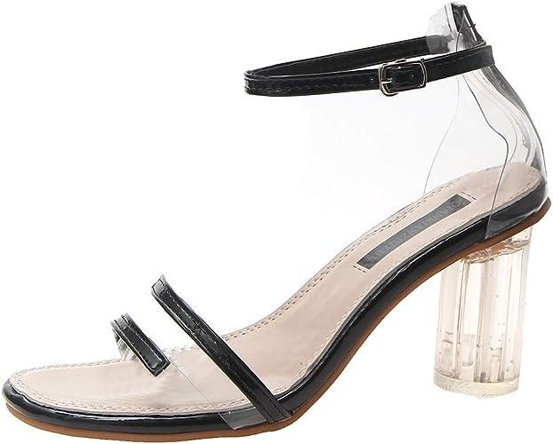 Court Shoes Women Transparent Block