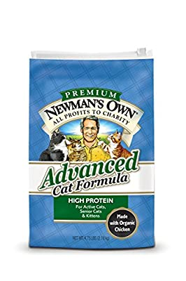 mans Own Organics Advanced Cat Dry Formula 3-pound Bags Pack Of 2 by Newman's Own