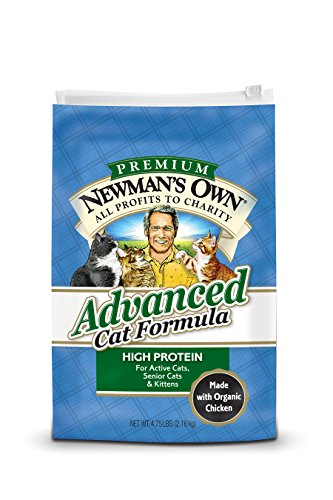 Newman'S Own Advanced Cat Food Formula, 4.75-Pound Bag (Formula Rice Dry Brown)