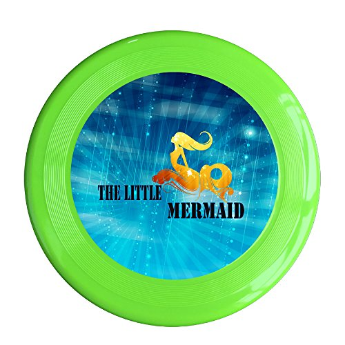Kim Lennon Cute Little Mermaid Custom Outdoor Plastic Sport Disc Colors And Styles Vary KellyGreen Size One - Ray Lennon Ban