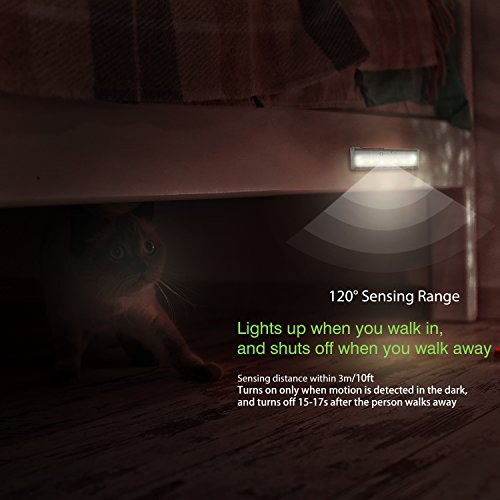 oxyled motion sensor lights mini size with 6 led night light import it all. Black Bedroom Furniture Sets. Home Design Ideas