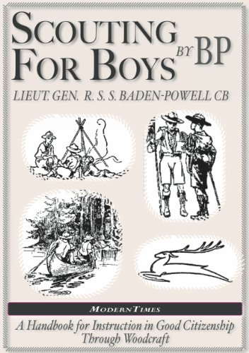 Amazon robert baden powell scouting for boys the original robert baden powell scouting for boys the original illustrated by fandeluxe Images