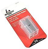 single blade - ASR 66-0210 .009 Single Edge Blade Safety Dispenser with 10 Razer Blades
