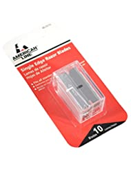 ASR 66-0210 .009 Single Edge Blade Safety Dispenser with 10 R...
