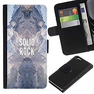 KingStore / Leather Etui en cuir / Apple Iphone 6 / Diamant Sky Univers Sky