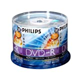 Philips DVD-R 4.7gb 16x, 50 Cake Box