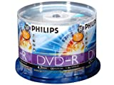 Philips 4.7 GB 16X DVD-R 50PK Spindle
