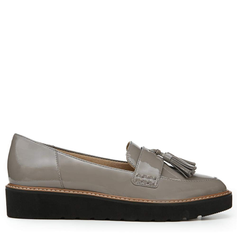 Grey Patent Naturalizer Women's August Slip-On Loafers