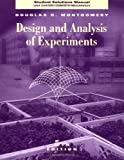 Design and Analysis of Experiments, Montgomery, Douglas C., 0471265918