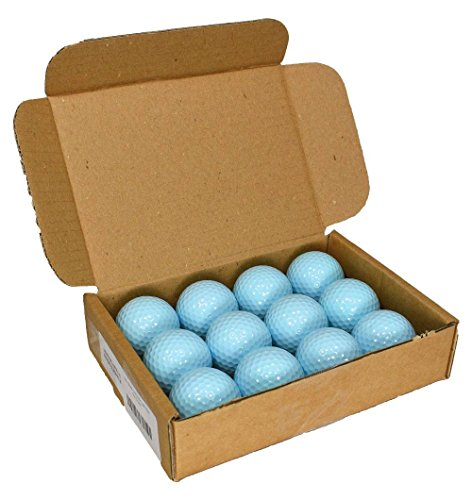 Nitro- Blank Golf Balls Teal Light Blue]()