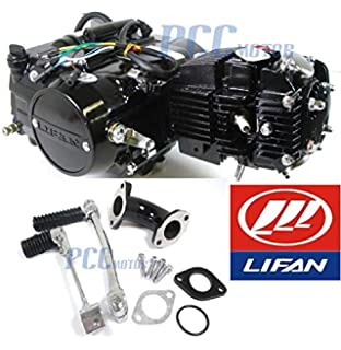 Amazon.com: 45L 4 UP LIFAN 125CC Manual Motor Engine ...