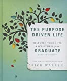 download ebook the purpose driven life selected thoughts and scriptures for the graduate by warren, rick (2013) pdf epub