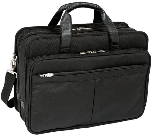 mckleinusa-walton-73985-black-expandable-double-compartment-laptop-case-w-removable-sleeve