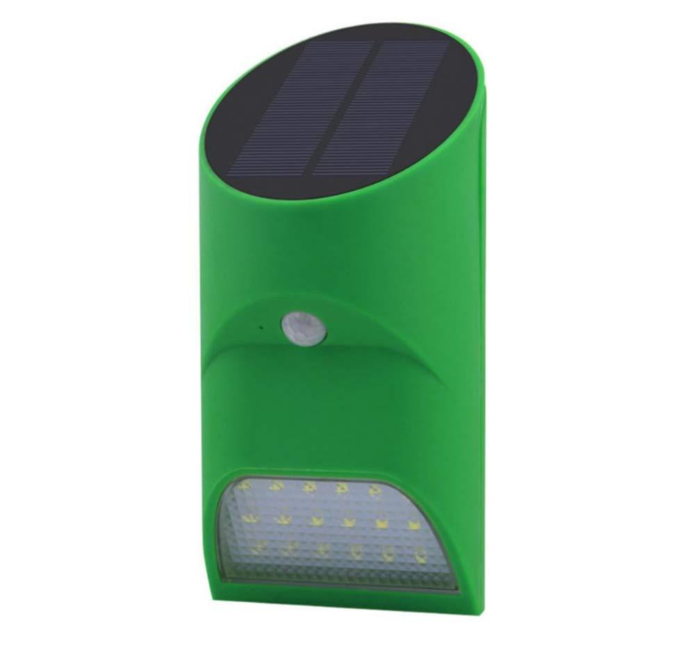 Laogg Lampade da Parete Applique, bambù Tubo Forma Movimento di Luce Solare Impermeabile + Luce Controllo Lampada all'aperto Illuminazione a LED Lampada da Parete 165  78  90mm