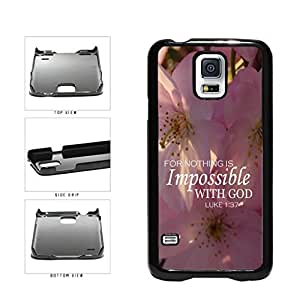 Impossible Plastic Phone Case Back Cover Samsung Galaxy S5 I9600