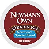 Gourmet Food : Newman's Own Organics Keurig Single-Serve K-Cup Pods Newman's Special Blend Medium Roast Coffee, 72 Count (6 Boxes of 12 Pods)
