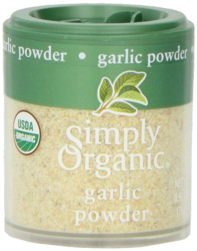 Simply Organic Garlic Powder Certified Organic, 0.92-Ounce Containers (Pack of 6) ()