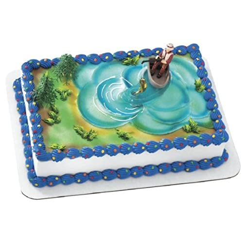 Fishing Cake Topper for Birthday Amazoncom