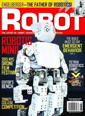 Download Robot Magazine -- Issue #53 -- July/August 2015 pdf epub