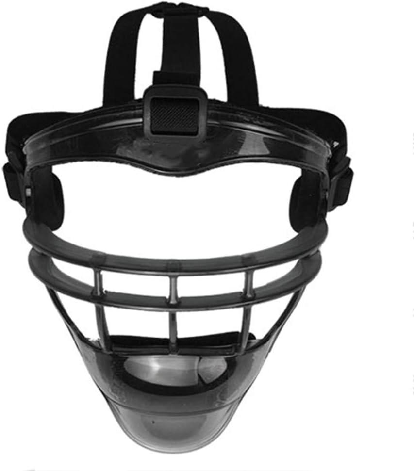 M/áscara De Protecci/ón De Defensa De B/éisbol Suministros De Softball Escudo De Casco Equipo De Entrenamiento para Juegos De B/éisbol para Adultos para Ni/ños AMAIRS Casco De B/éisbol