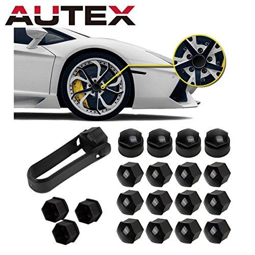 - AUTEX Black 16x Wheel Lug Nut Center Cover + 4x Locking Types Caps + Removal Tool for 2013-2015 Toyota Avalon 2012-2015 Camry 2011-2015 Corolla Sienna 2014-2015 Highlander 2012-2013 Matrix