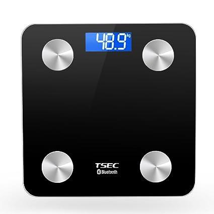 Escala de grasa corporal electrónica Báscula grasa balanza de precisión Inicio Said adulto que pesa la