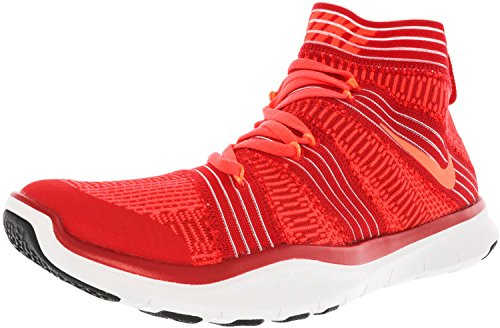 Turnschuh mit Socke Herren Nike Free Train Virtue Fitnesschuh Training Sportschuh rot Sockenschuhe