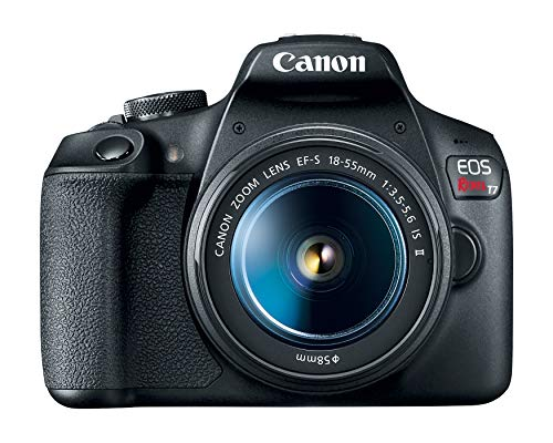 Canon EOS Rebel T7 DSLR Camera with 18-55mm Lens   Built-in Wi-Fi   24.1 MP CMOS Sensor   DIGIC 4+ Image Processor and…