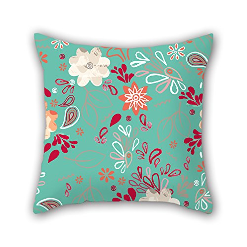 PILLO The Flower Pillowcover Of ,20 X 20 Inches / 50 By 50 Cm Decoration,gift For Indoor,home,sofa,drawing Room,dinning Room,pub (2 Sides) (Cricket Travel Cartridge)