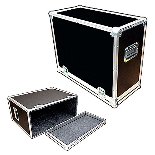 Amplifier 1/4 Ply Light Duty ATA Case with All Recessed Hardware Fits Fender 65 Deluxe Reverb (Reverb Deluxe 65 Cover Amp)