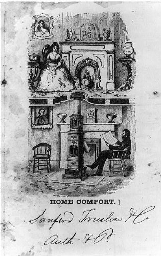 HistoricalFindings Photo: Advertisement for Coal Stove,1879,Home Comfort