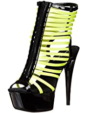 The Highest Heel Womens Glow-131 Glow-131