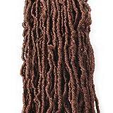 Feyees Nu Faux Locs Crochet Braids 18 Inch Faux