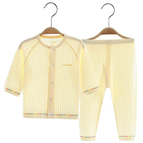Baby Boys Girls Pajamas Clothes Kids 2Pcs Clothing Set - 4