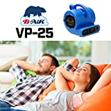 B-Air VP-25 1/4 HP 900 CFM Air Mover for Water