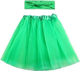 Amosfun Costume Tuta Verde Bubble Kit Fascia per Principessa Abito Copricapo Costume per Fotografia per Neonato 1546142BJ1