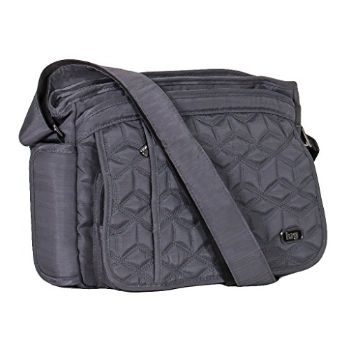 Lug Clothing, Shoes & Jewelry Cross Body Bag, BRUSHED GREY, One ()