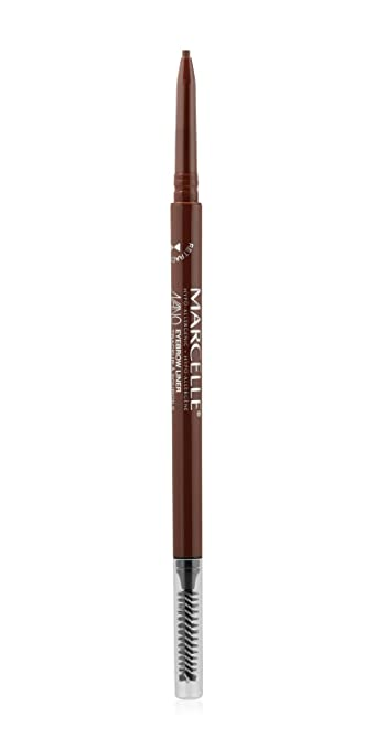 Marcelle Nano Eyebrow Liner, Auburn, Hypoallergenic and Fragrance-Free, 0.003 oz