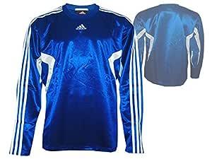 adidas Euro Club LS Jersey Baloncesto Shooting Camiseta Azul ...