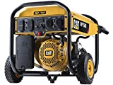 Cat RP7500E Gas Powered Portable Generator with Electric Start – 7500 Running Watts/9375 Starting Watts 490-6491