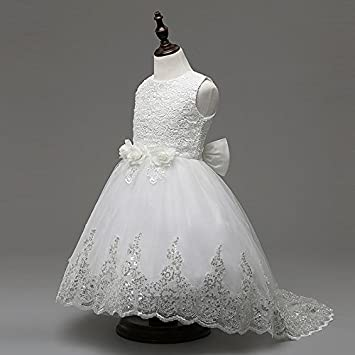 Amazon.com : Adimon(TM) Girls Party Dress Kids New Designer Children ...