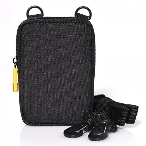 KODAK Soft Camera Case - Small Instant Print Camera & Printer Bag w/ Photo Paper Pocket, Zipper Closure & Crossbody Shoulder Strap Universal Compact Design for Printomatic, Mini Shot, Mini - Accessories Digital Cameras Kodak