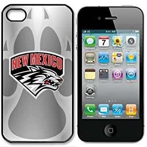 NCAA New Mexico Lobos Iphone 5 Case Cover