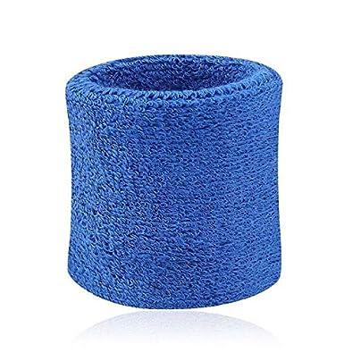 Sunonip 2Pcs Rub The Sweat Basketball Cotton Wristbands Wrist Band Bands Sweatbands Sweat Band Bracelet Rich Colors Estimated Price £8.29 -