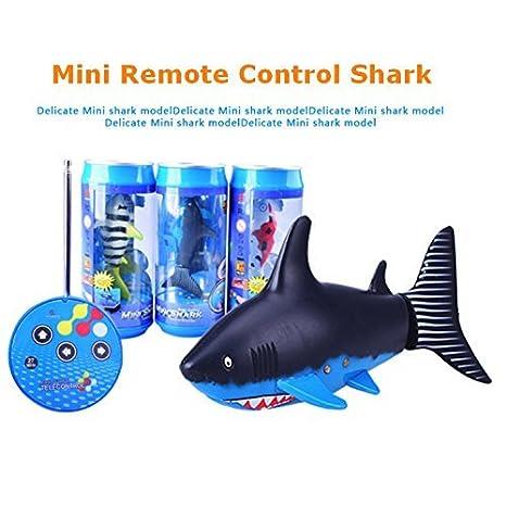 Waterprooft mando a distancia tiburón pescado puede paquete: Amazon.es: Juguetes y juegos