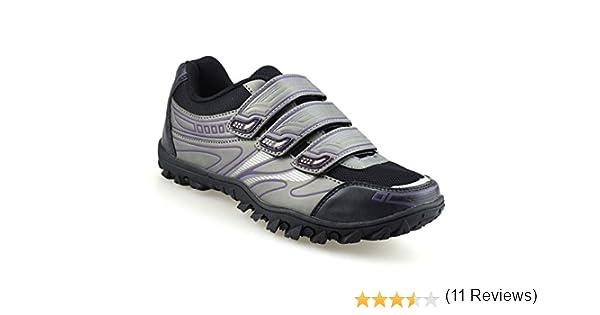 Crivit Sports - Zapatillas de Ciclismo de Piel sintética para Mujer, Color, Talla 37 1/3: Amazon.es: Zapatos y complementos