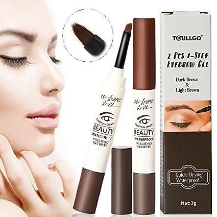 Cejas Mascara, Cejas Crema, Eyebrow Gel, Eyebrow Crema Agua Densidad Cejas Gel Crema