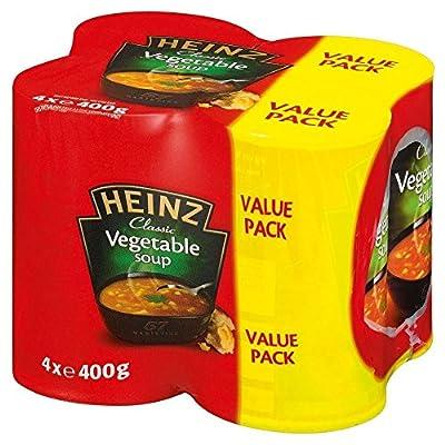 Heinz Classic Vegetable Soup (4x400g)